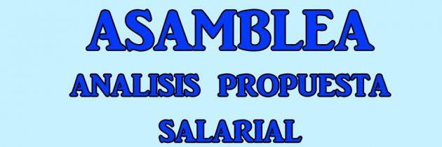 ASAMBLEA LOMAS/AVELLANEDA – ANÁLISIS PROPUESTA SALARIAL