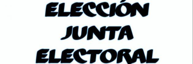 ELECCIÓN JUNTA ELECTORAL