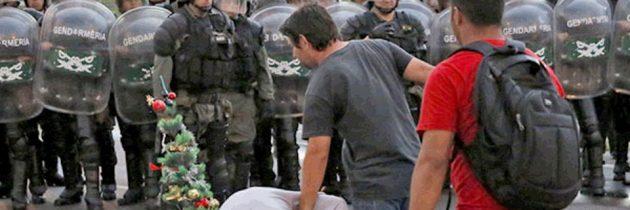 REPUDIO – REPRESIÓN A LOS TRABAJADORES DE CRESTA ROJA